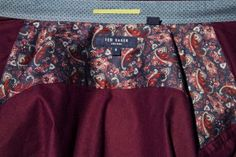 New #post/ #review of Ted Baker red corduroy shirt: http://www.cefashion.net/?p=4808 #men #mindblo #tedbaker #burgundy