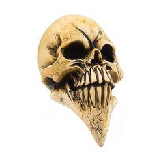 Tall & Scary McPhail Long Resin Skull - HouseOspeed - Hot Rod Shift Knob