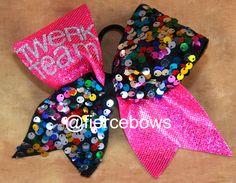 Cheer Bow. $13.50, via Etsy.