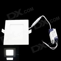 1. Anti-glaring and super bright; Ultra-slim and light weight; 2. Long life span 70000 hours, widely used in home, hotel, office, meeting room, mall http://j.mp/VIPnDf