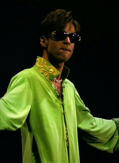 Prince - lime green never looked this good!