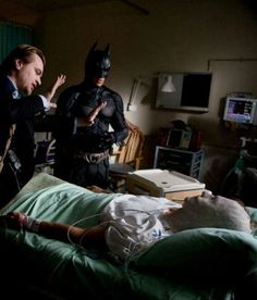 Behind the scenes Christopher nolan, Batman and Harvey Dent