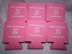 Bachelorette Koozies Design 12910809 by odysseycustomdesigns  #customkoozies #bacheloretteparty