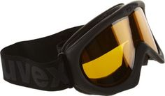 The uvex Black Magic II Goggles are classic ski goggles with a double lens for a large a field of vision.
