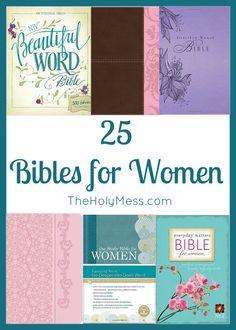 25 Bibles for Women|