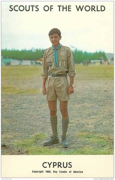 Scouts of the world. Cyprus