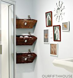 Small Corner Storage For Bathroom