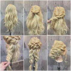 Wedding hair do Love Hair, Great Hair, Bridesmaid Hair, Prom Hair, Peinado Updo, Bride Hairstyles, Hair Art, Hair Designs, Hair Looks