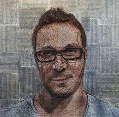 Grandiose Schrauben-Gemälde von Andrew Myers
