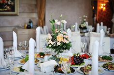 How to choose your Wedding Menu - The food at a wedding is always a serious talking point, but that doesn't mean you can't have fun while choosing your menu... #weddingmenu #weddingplanning #weddingideas