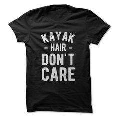 Kayak Hair. Don't Care.