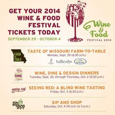 Inside Columbia - Check out the lineup for the 2014 Wine & Food Festival. #WFF2014 http://www.columbiawinefest.com