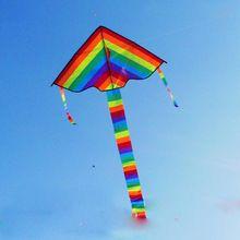 1 Pcs Arc-En-Cerf-Volant Sans Outils de Vol En Plein Air Fun Sport Kite Usine…