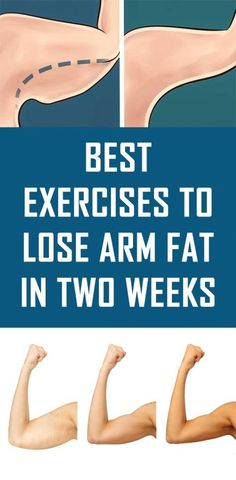 Exercises To Lose Arm Fat In Two Weeks These are the best exercises to practice if you want to lose arm fat in super short time.These are the best exercises to practice if you want to lose arm fat in super short time. Quick Weight Loss Tips, Weight Loss Blogs, Weight Loss Help, How To Lose Weight Fast, Weight Gain, Losing Weight, Reduce Weight, Fitness Workouts, Arm Workouts At Home