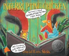 "Last week one of our social skills lessons started with a read aloud of ""Interrupting Chicken"" by David Ezra Stein. This is a great book t. Funny Books For Kids, Kid Books, Story Books, Baby Books, Leader In Me, Listening Skills, Listening Ears, Active Listening, Mentor Texts"