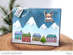 mama elephant | design blog: INTRODUCING: Reindeer Games + Snow-capped Mountains CC