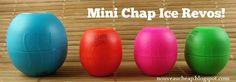 Now at Dollar Tree: Mini Chap Ice Revo Lip Balms!