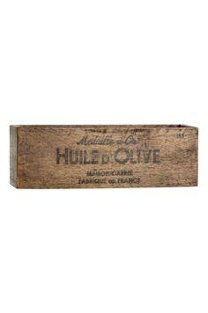 Caja de madera | H&M