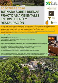 Jornada de buenas prácticas medioambientales en Hotel Masia La Mota, Alcoy, Alicante, España