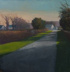 David Skinner is a contemporary landscape painter based in Asheville, North Carolina. Located in the River Arts District, David offers classes, workshops, and sells his originals and prints. Contemporary Landscape, Cottages, Ireland, Country Roads, River, Prints, Art, Art Background, Cabins