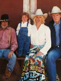 The Imus Family in New Mexico.