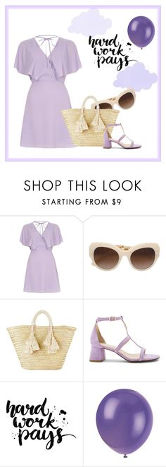 """""""Hard Work Pays"""" by loverofalot ❤ liked on Polyvore featuring River Island, Giselle and Raye"""