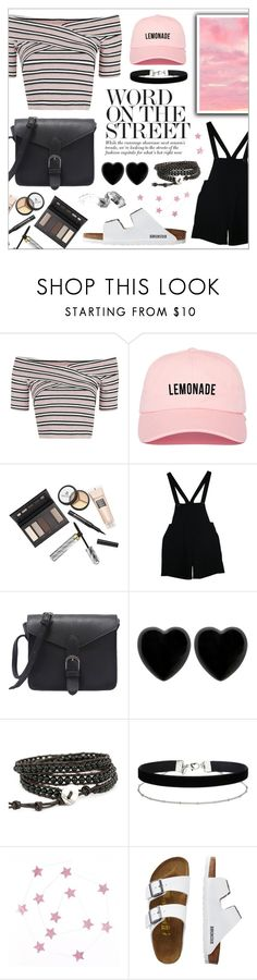 """Lemonade"" by oubliettte ❤ liked on Polyvore featuring Topshop, Borghese, American Apparel, Dollydagger, Miss Selfridge, TravelSmith and Bobbi Brown Cosmetics"