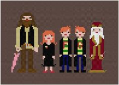 Harry's Friends The Original Pixel People PDF Cross