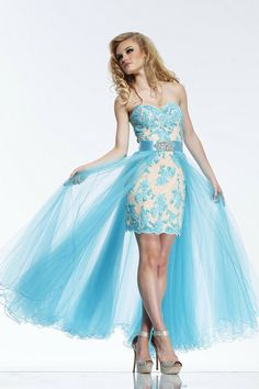 highlow 2014 prom dresses | ... short high-low prom dress is perfect for a party or date night out