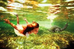 Mystical underwater photography by Elena Kalis