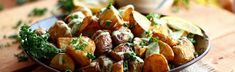 Crispy Potatoes with Garlic Lemon Avocado Aioli Recipe