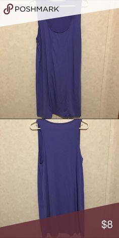 5/25 Purple dress/cover up/sleepwear Purple dress/cover up. Tshirt fabric. Gilligan & O'Malley Dresses Midi