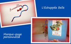 Marque-page en fil alu personnalisé par L'Echappée Belle