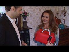 Argentijnse leren tassen van Fachera in een televisie programma van RTL4
