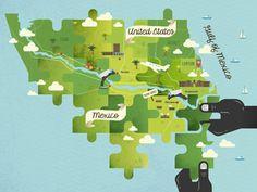 Map drbs