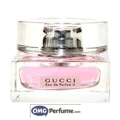 Eau De Parfum (EDP):It is lighter than Perfume, with an 8-15% concentration, but still has long lasting characteristics, from 3 to 5 hours. It is less expensive than pure perfume. Shop now at: http://omgperfume.com/gucci-eau-de-parfum-ii-for-women-2-5-oz-spray/
