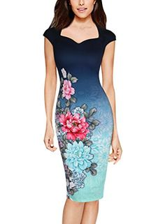 c076d35358 ... from China business dress Suppliers  2017 Woman Business Pencil Dresses  Printed O Neck Elegant Slim Ladies Party Vestidos Office Work Bodycon Dress