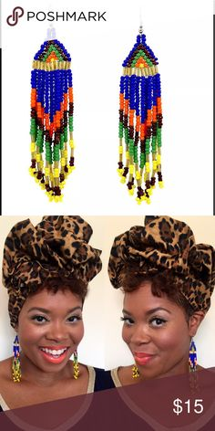 Seed Bead Beauty Earrings These beauties are sure to become your go-to accessory. The are colorful and gorgeous. Wear these anytime anyplace. You are sure to get lots of compliments in these nickel free round studs. That add so much fun and versatility to any style preference.                                                               Coordinating accessories can be found in separate listing. Crowned In Royalty Jewelry Earrings