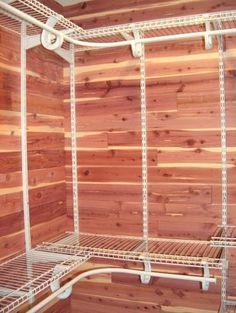 For the closets: CedarSafe Aromatic Eastern Red Cedar Closet Liner, Tongue and Groove Planks. Home Depot.