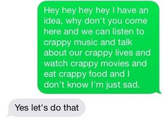 @jasmine7294 Always. Let's do this. Every day. | 27 Texts You'd Only Get From Your Best Friend