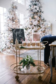 It's the most wonderful time of the year! Take your next holiday gathering up a notch with a hot cocoa bar. Here are some cute ideas to make a hot cocoa bar — and one your guests will love. Noel Christmas, Pink Christmas, All Things Christmas, Winter Christmas, Christmas Gifts, Christmas Decorations, Holiday Decor, Holiday Gifts, Christmas Thoughts
