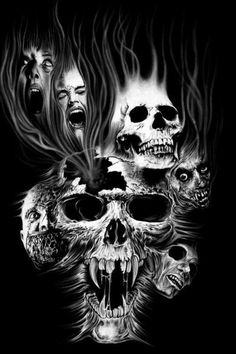 Smokey skulls