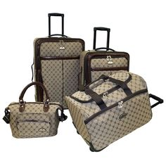 U.S. Traveler by Traveler's Choice Oakton 4-Piece Colorful ...