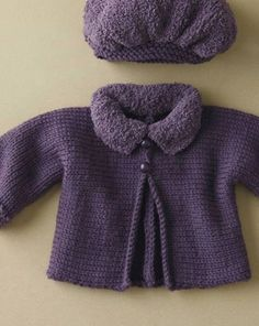 tutorial y patrón para hacer vestidito para bebé de 0 a 9 meses Knitting For Kids, Baby Knitting, Doll Clothes Patterns, Clothing Patterns, Knitting Paterns, Knitted Baby Cardigan, Baby Sweaters, Baby Accessories, Baby Dress