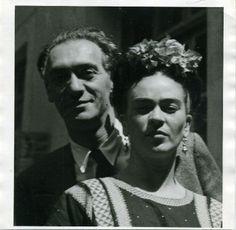 Isamu Noguchi and Frida Kahlo... a powerful affair!