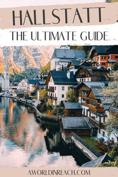 Hallstatt is a gorgeous Austrian lake town surrounded by mountains. Planning your first visit to Hallstatt? Check out this ultimate Hallstatt itinerary and guide! 3 days in Hallstatt / 4 days in Hallstatt / things to do in Hallstatt / Hallstatt travel tips / one day in Hallstatt / Austria travel / Europe travel / beautiful places in Austria / beautiful places in Europe / beautiful destinations / travel bucket list / travel inspiration / wanderlust destinations / 24 hours in Hallstatt Europe Destinations, Places In Europe, Places To Travel, Road Trip Europe, Europe Travel Guide, Travel Guides, Trekking, Wachau Valley, Austria Travel