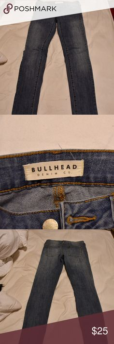 Bullhead Low Rise skinniest Jeans never worn great condition jeans from pacsun.  Check out my closet for Victoria's Secret, Kate Spade, Lilly Pulitzer, Free People, Lulu Lemon, Urban Outfitters, Lucky Brand, J. Crew, PacSun, and more! Bullhead Jeans