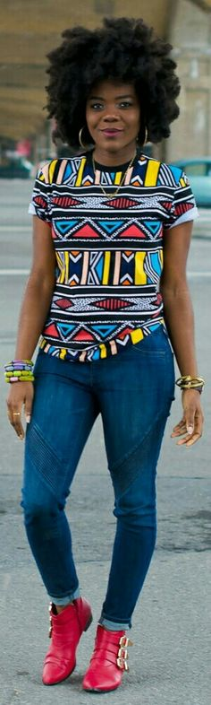 Brass bracelets: gifted Foreign Collections // Denim: H&M // T-Shirt: H&M mens // Booties: F21 - Simply Cyn