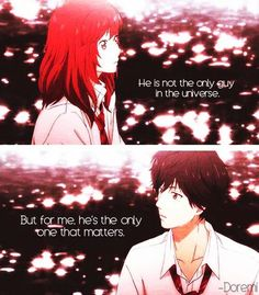 """""""He is not the only guy in the universe. But for me he's the only one that matters"""""""