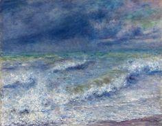 Pierre-Auguste Renoir  French, 1841-1919, Seascape